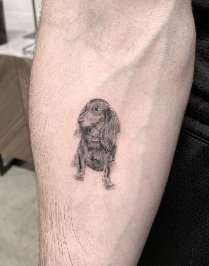 10+ Best Small Dog Tattoos