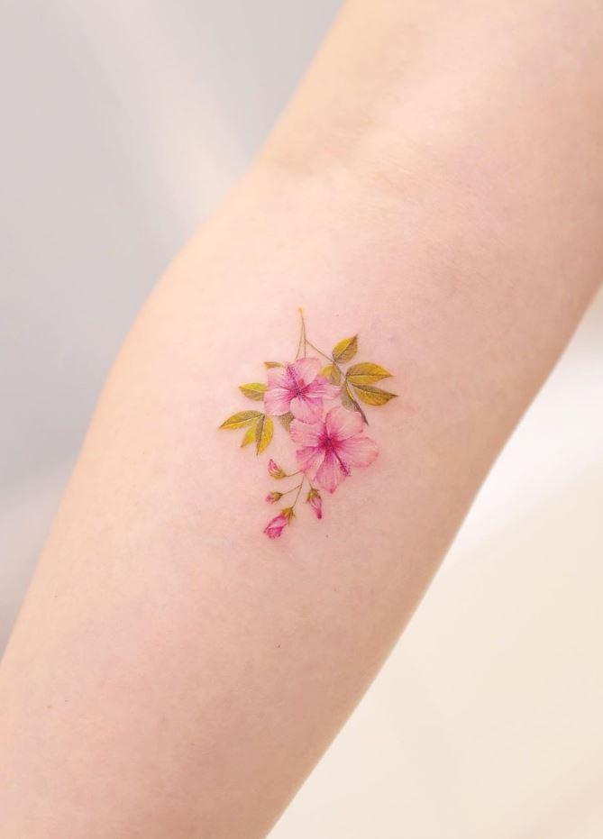 Little Flower Tattoo