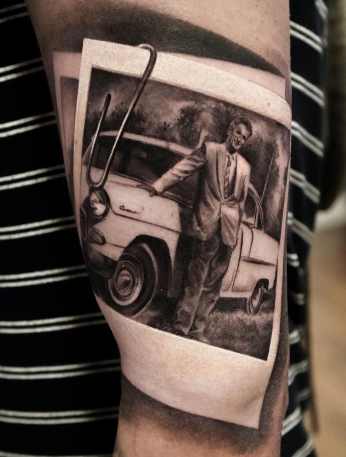 10+ Awesome Black & Gray Tattoos For Men