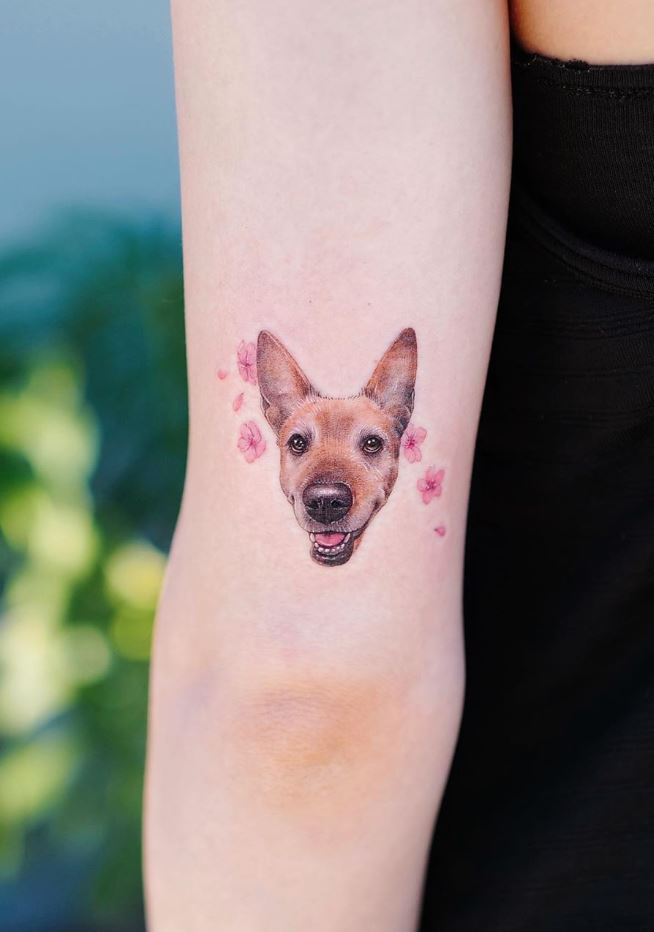 The Best Small Dog Tattoos