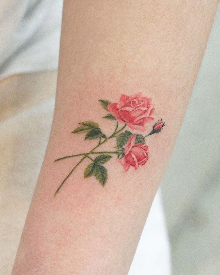 The Best Flower Tattoos