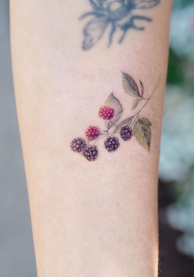 Berries Tattoo