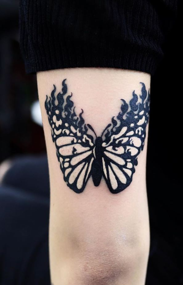 Breathtaking Butterfly Tattoo