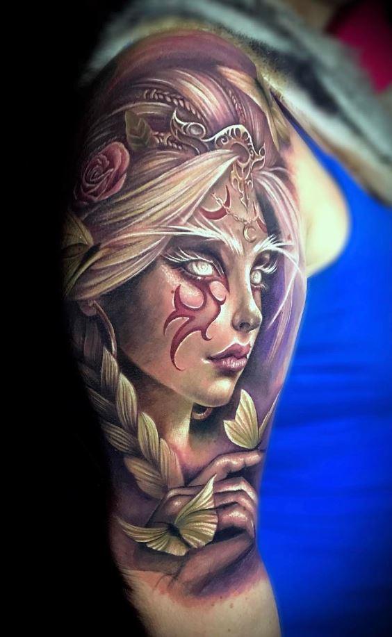 Elf Girl Tattoo