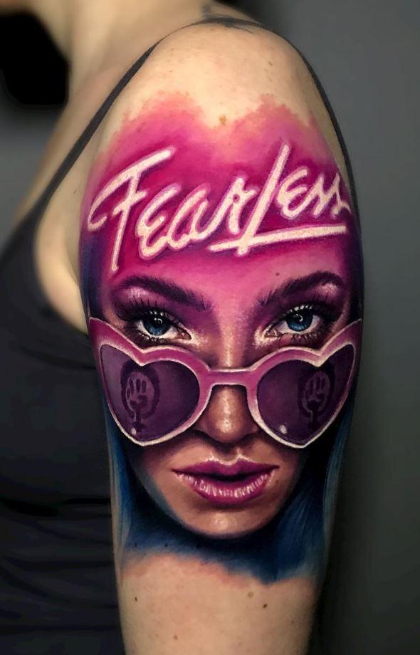Fearless Girl Tattoo