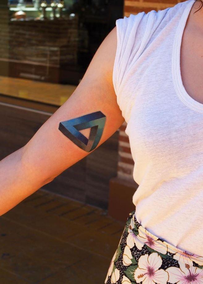 Impossible Triangle Tattoo