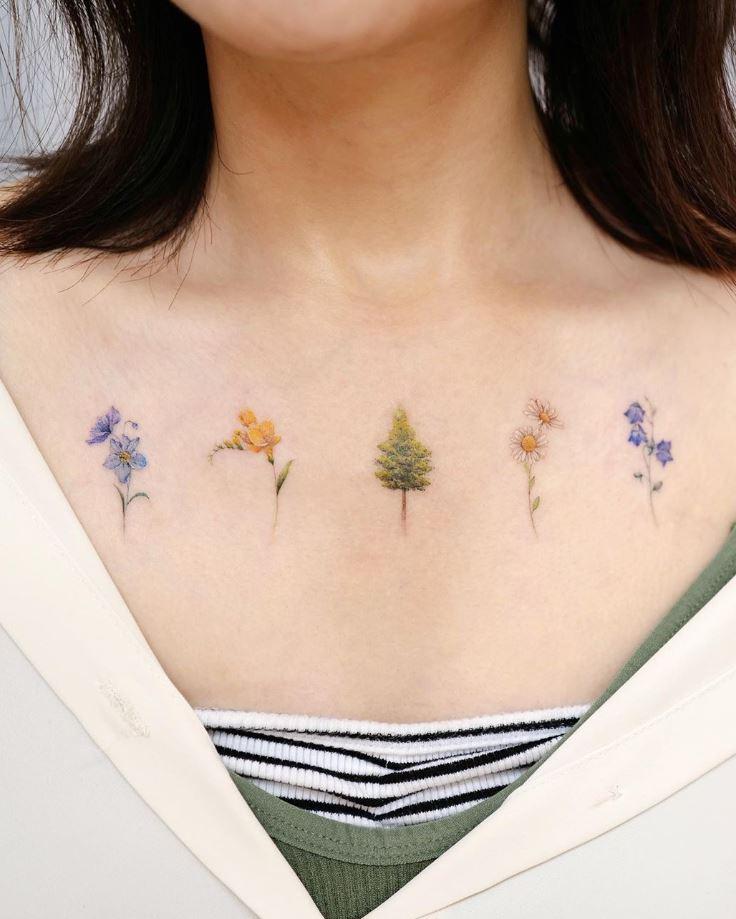 Little Flowers Tattoo