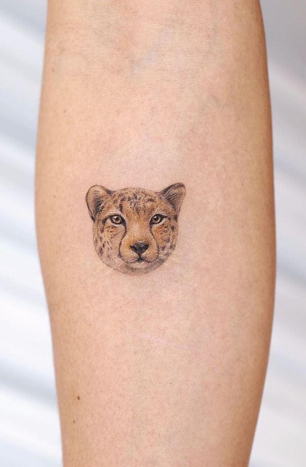 Little Tiger Tattoo