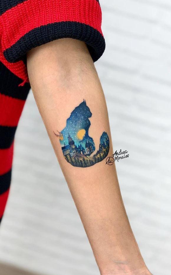 Mrs. Norris Tattoo