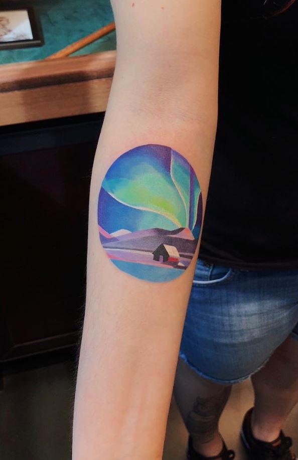 Northern Lights Tattoo