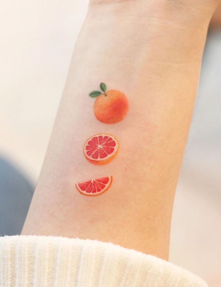 Orange Tattoo