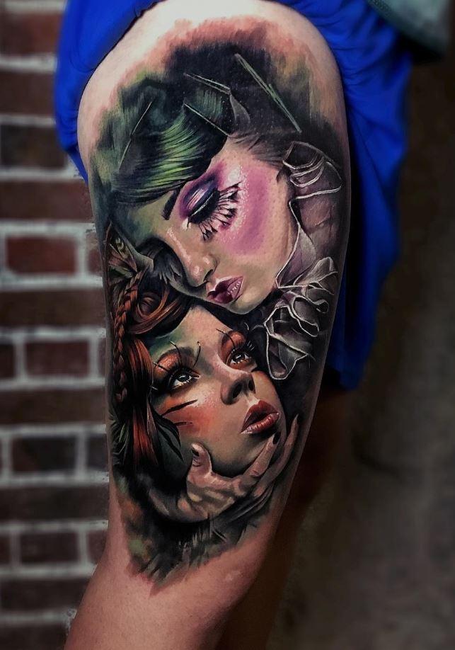 Portraits Tattoo