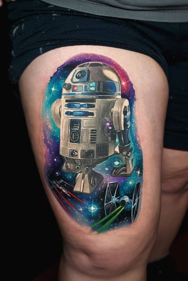 R2-D2 Tattoo