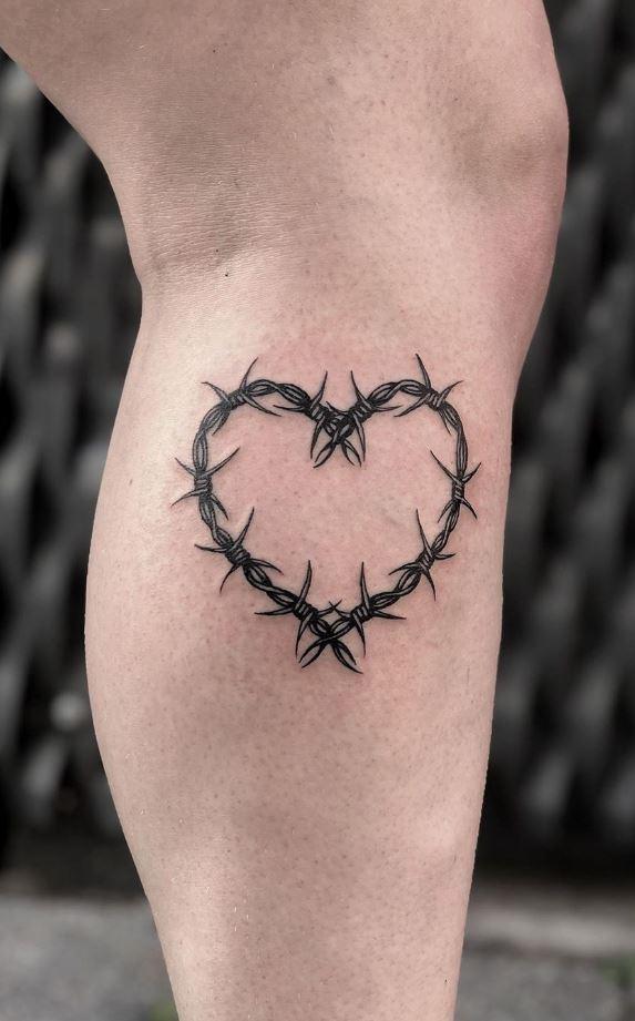 Thorn Heart Tattoo