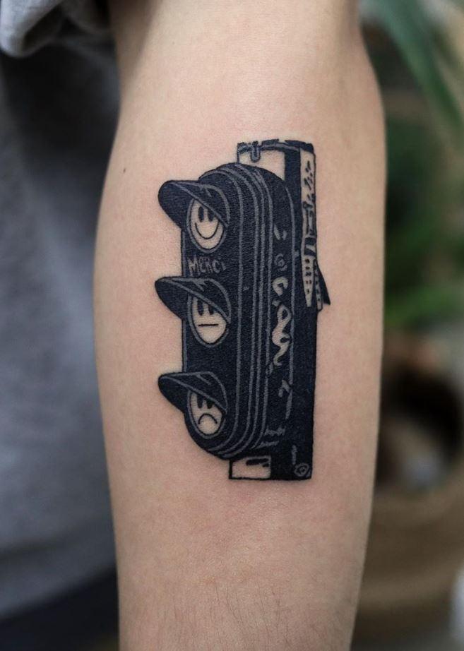 Traffic Lights Tattoo