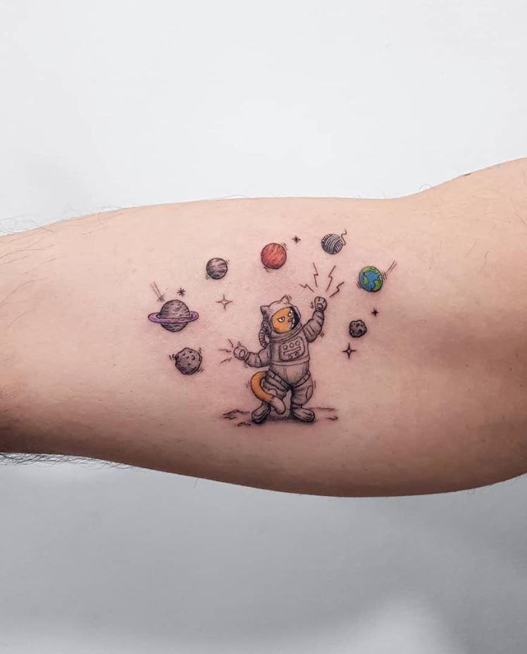 Astrocat Tattoo