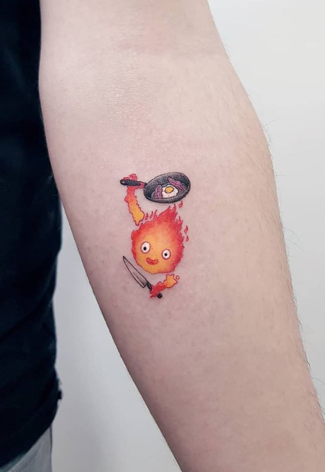 Calcifer Tattoo