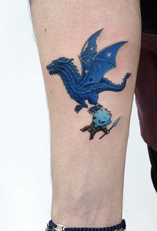 Funny Game Of Thrones Tattoo