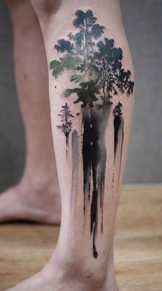 Awesome Tree Tattoo