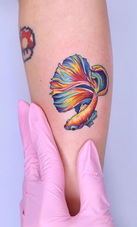 Beta Fish Tattoo