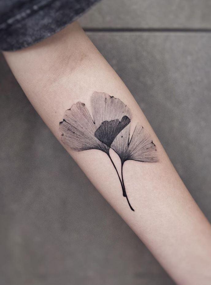 Ginkgo Tattoo