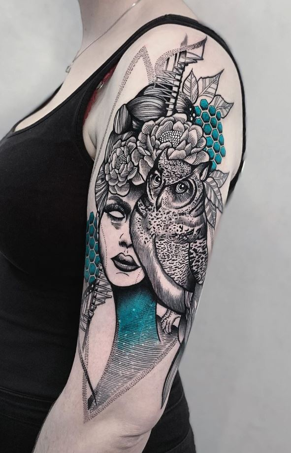 Goddess Athena Tattoo