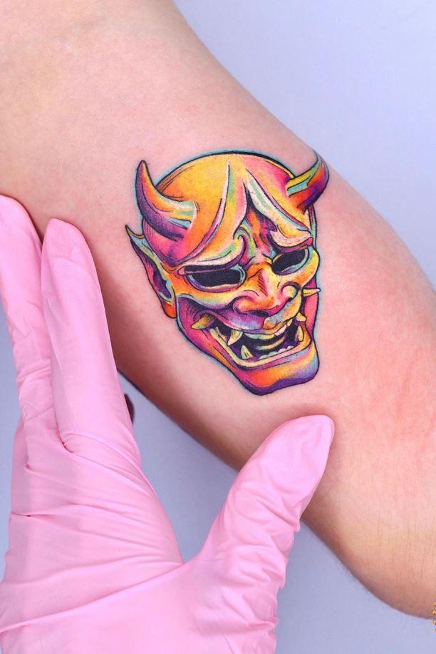 The Hannya Mask Tattoo