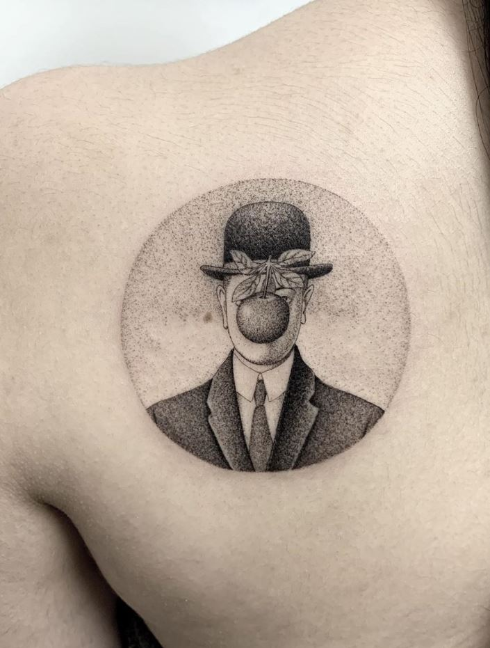 The Son of Man Tattoo