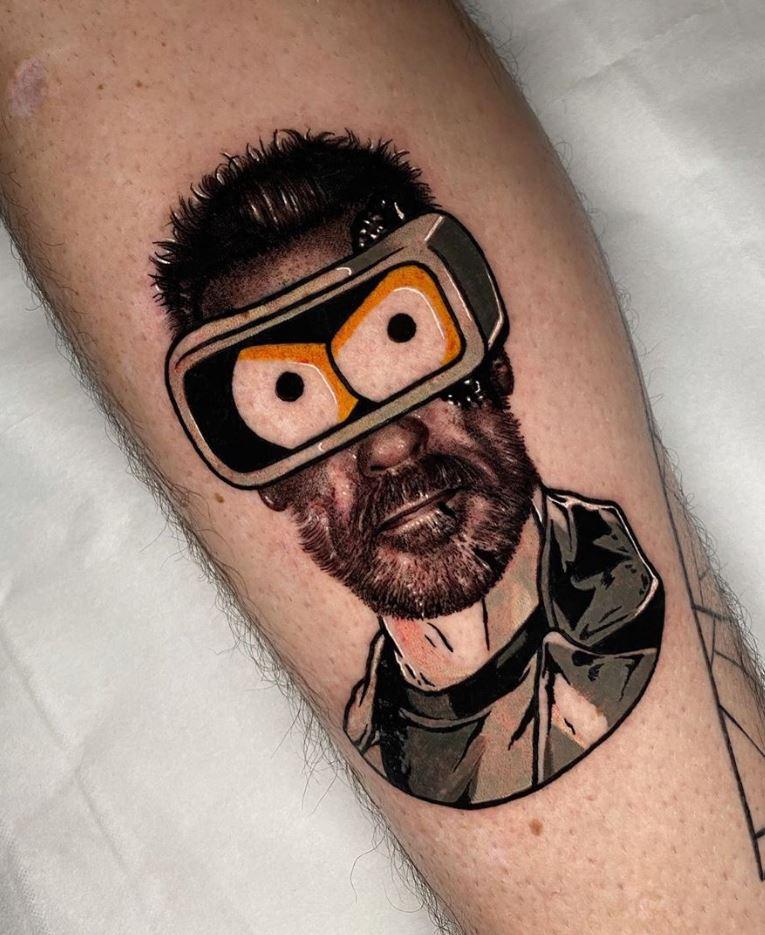 Benderminator Tattoo