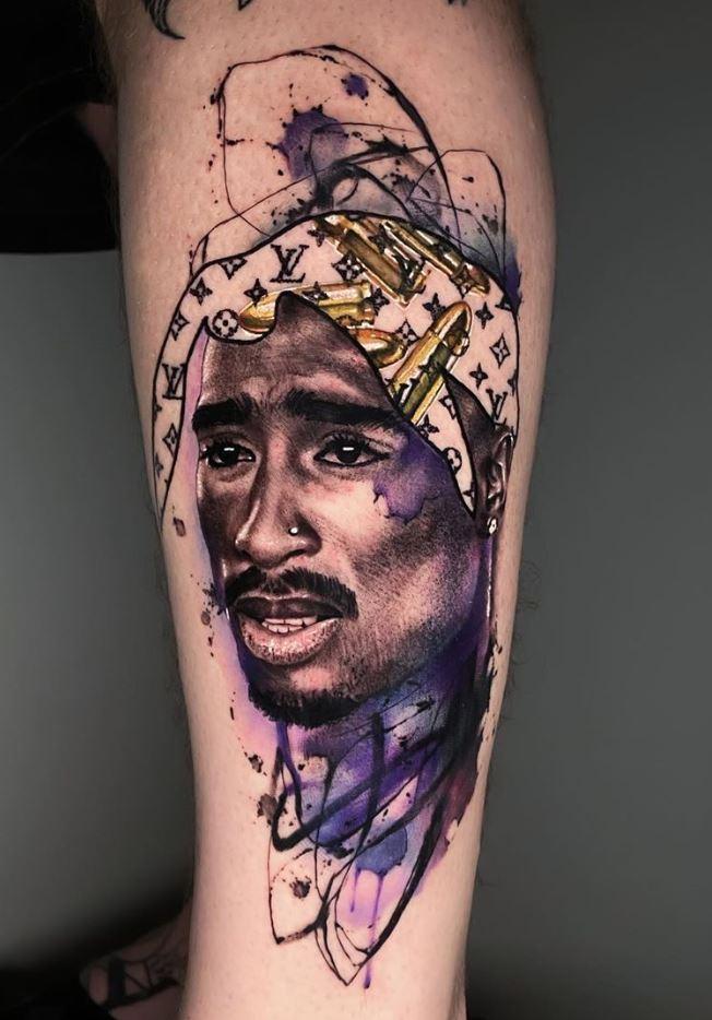 Tupac Shakur Tattoo