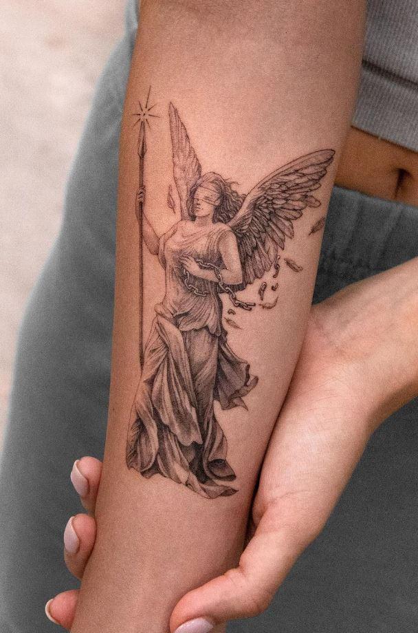 Victory Of Samothrace Tattoo