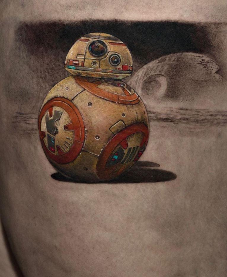 BB-8 Tattoo