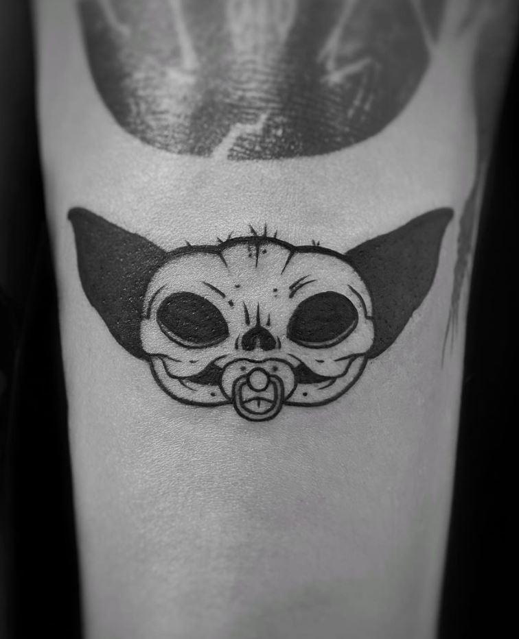Baby Yoda Tattoo