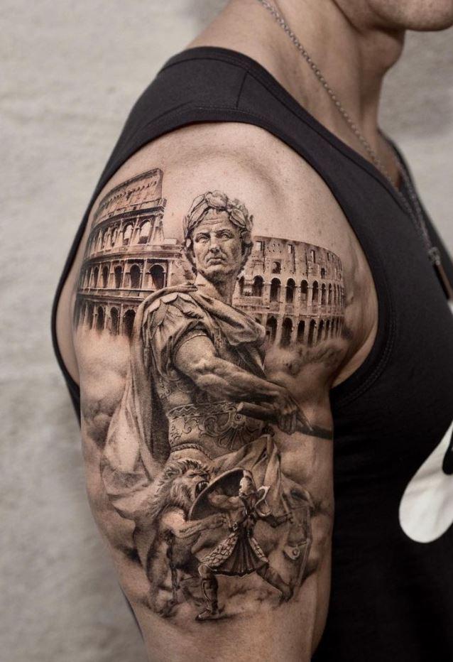 Julius Caesar Tattoo