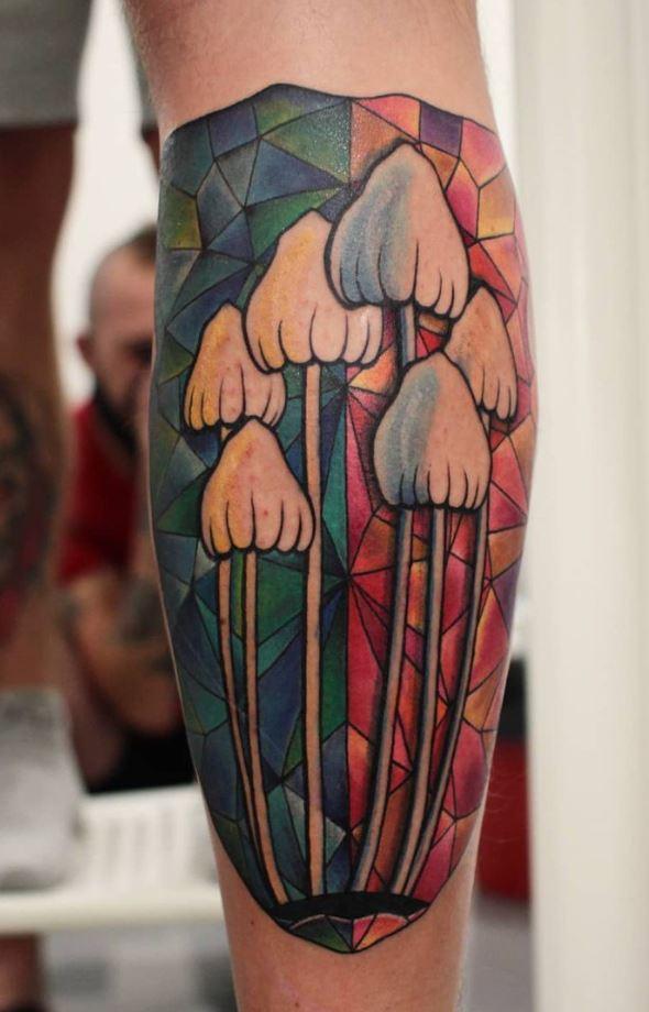 Mushrooms Tattoo