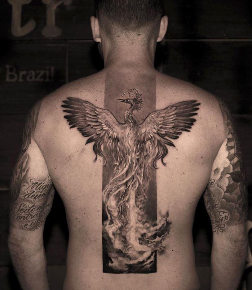 Rise of the Phoenix Tattoo