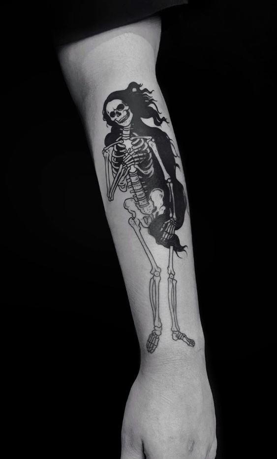 The Birth of Venus Tattoo