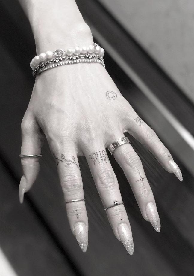 Amazing Small Hand Tattoo
