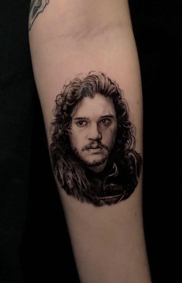 Jon Snow Tattoo