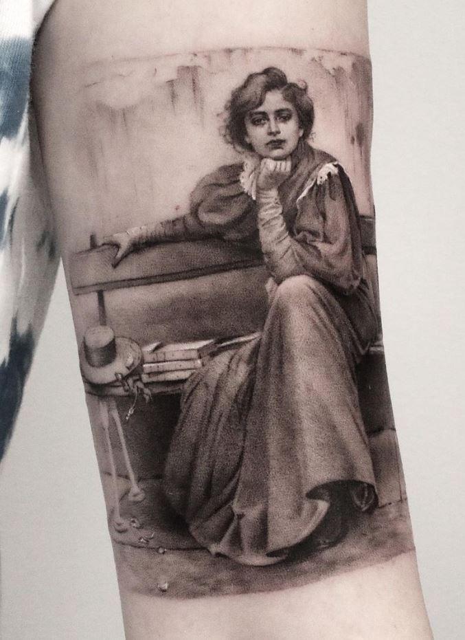 Vittorio Matteo Corcos' Dreams Tattoo