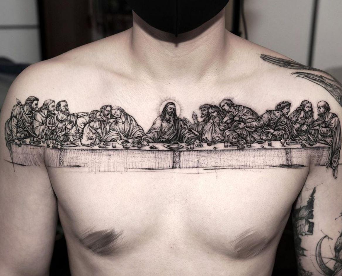 The Last Supper Tattoo