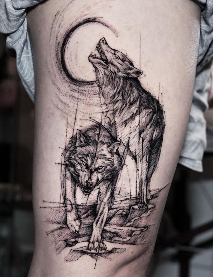 Wolves Tattoo