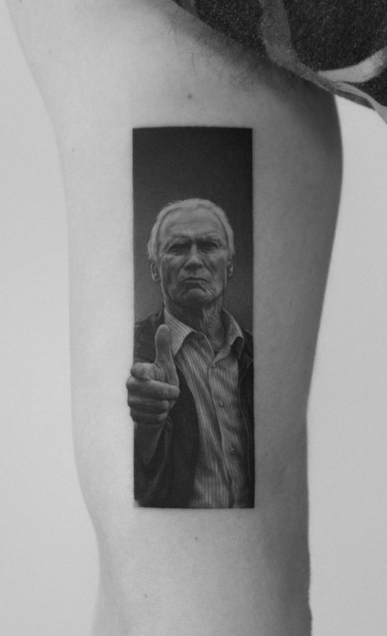 Clint Eastwood Tattoo