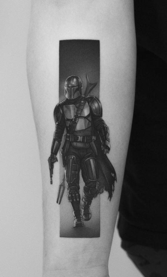 The Mandalorian Tattoo