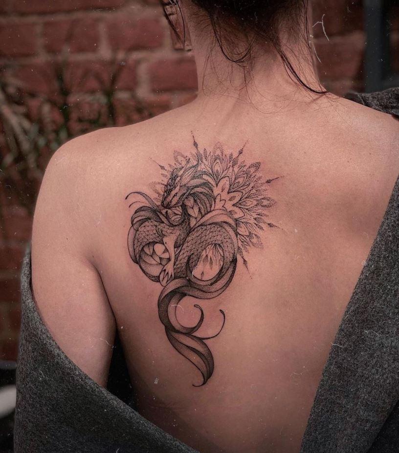 Ornamental Dragon Tattoo